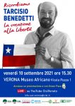 ricordo Tarcisio Benedetti VR 10.09.2021 mail facebook what